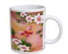 Butterfly Blossoms - 11 oz. White Coffee Mug