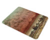 Courbet The Black Rocks At Trouville - Glass Cutting Board