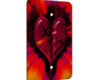 Emo Heart X - 1 Gang Blank Wall Plate Cover