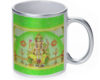 Ganesh - 11 oz. Silver Sparkle Coffee Mug
