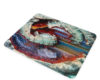 Geode Rainbow Fantasy - Glass Cutting Board