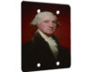George Washington Gilbert Stuart - 2 Gang Blank Wall Plate Cover