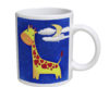 Giraffe n Mouse - 11 oz. White Coffee Mug