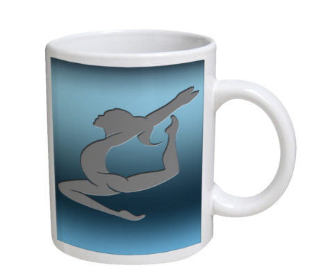 Girls Gymnastics - 11 oz. White Coffee Mug