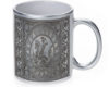 Gladiator Metal - 11 oz. Silver Sparkle Coffee Mug
