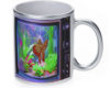 Goldfish Tv - 11 oz. Silver Sparkle Coffee Mug