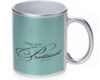 Happy Girls Are The Prettiest - 11 oz. Silver Sparkle Coffee Mug