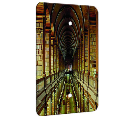 Library Hall Of Books - 1 Gang Blank Wall Plate Cover