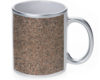 Marble Granite Stone - 11 oz. Silver Sparkle Coffee Mug