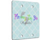 Mommy To Be Again - 2 Gang Blank Wall Plate Cover