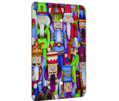 Nutcracker Collage - 1 Gang Blank Wall Plate Cover