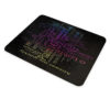 Psalm 143 Rainbow Colors - Glass Cheese Cutting Board