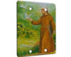 St Francis Animal Savior - 2 Gang Blank Wall Plate Cover
