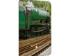 Train Green - 1 Gang Blank Wall Plate Cover