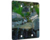 Waterfall On The Rocks - 2 Gang Blank Wall Plate Cover