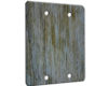 Wood Weathered - 2 Gang Blank Wall Plate Cover