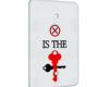 X is the Key - 1 Gang Blank Wall Plate Cover
