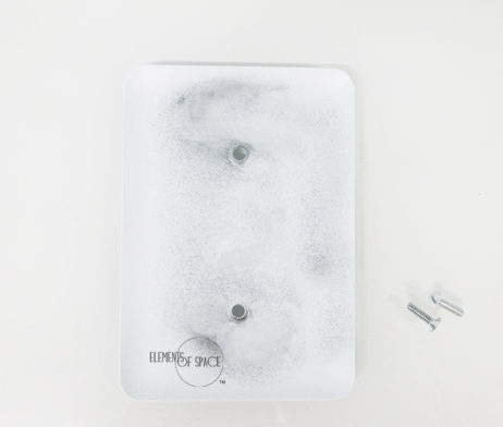 Agate Smokey Scape - 1 Gang Blank Wall Plate Cover